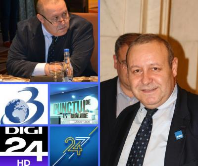 Aparitii Media – Daniel Fenechiu – 24 Noiembrie 2017.