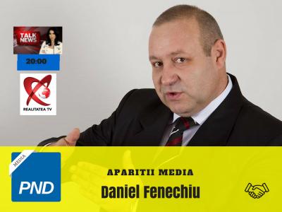 Aparitii Media – Daniel Fenechiu – 15 Noiembrie 2017.