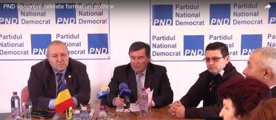 Conferința de Presa PND Dâmbovița